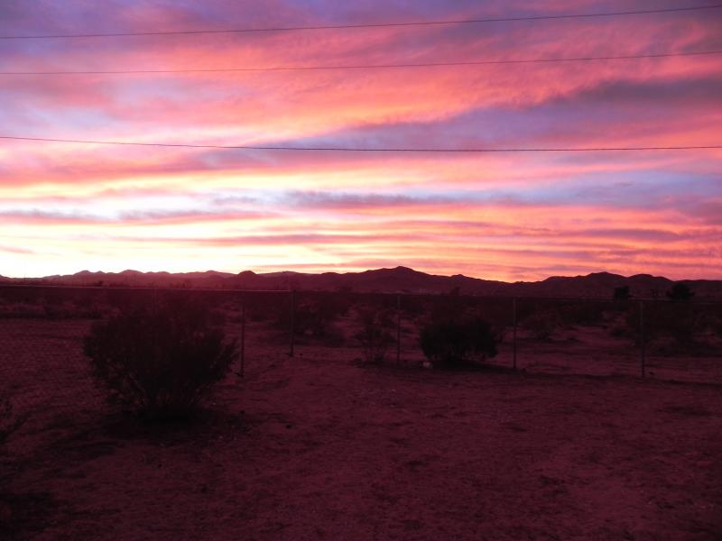 Yucca Valley sunset